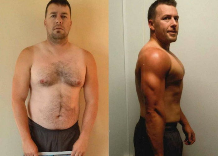 Club Physical 12-week Transformation before & after results