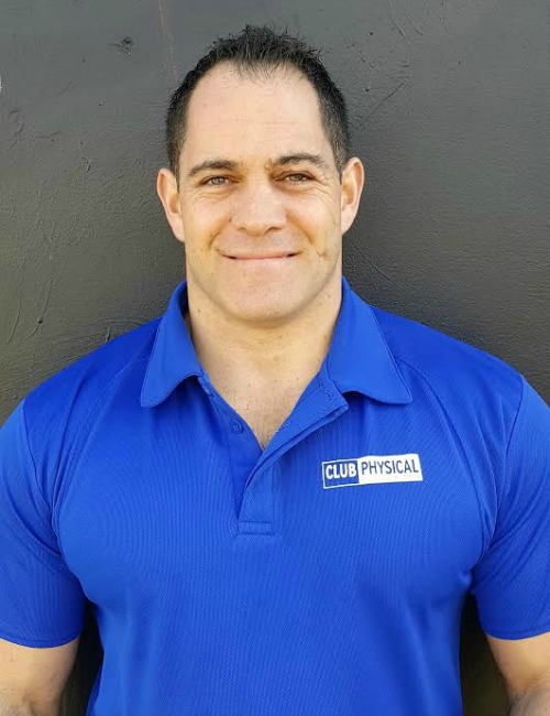 Club Physical Kaitaia personal trainer Stan