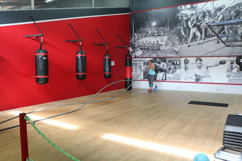 Club Physical Te Atatu battle ropes and boxing