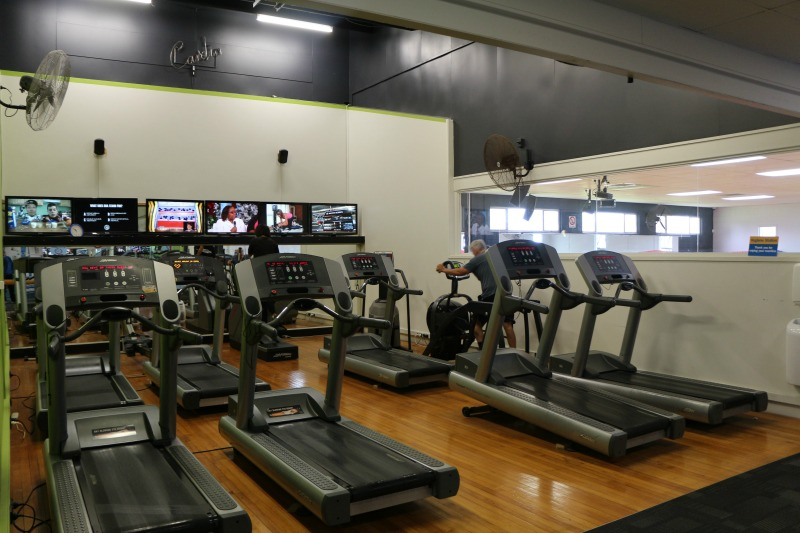 Club Physical Te Atatu cardio equipment